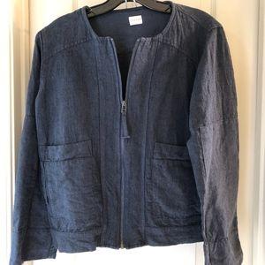 Poetry Jackets & Coats - Poetry Blazer Zip Jacket Blue | Size 6